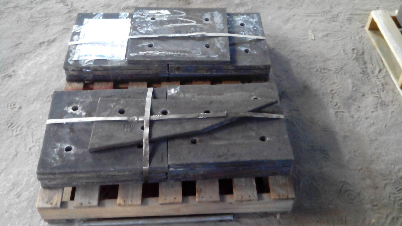 لاینر EMC فولاد مقاوم به سایش و ضربه