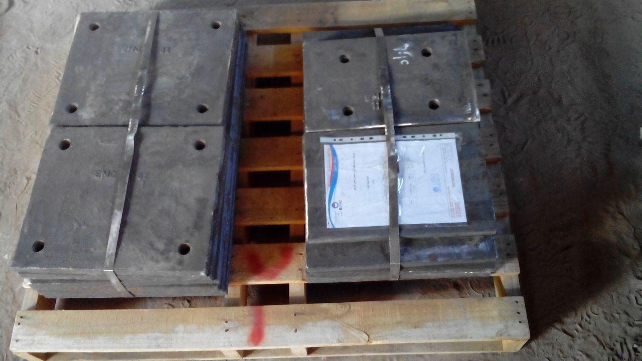 لاینر های فولادی مقاوم به ضربه و سایش EMC